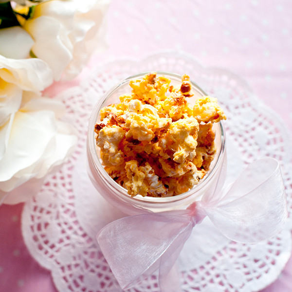 三步驟甜蜜小點心──煉奶焦糖爆米花