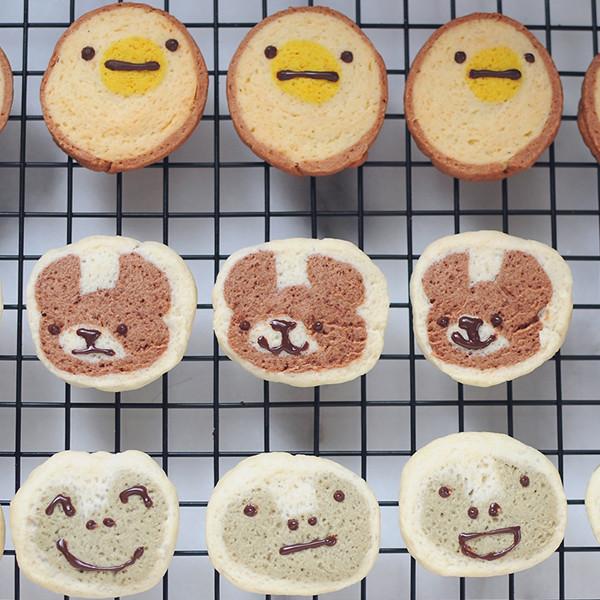 【kitb】只要五個材料!可愛動物餅乾