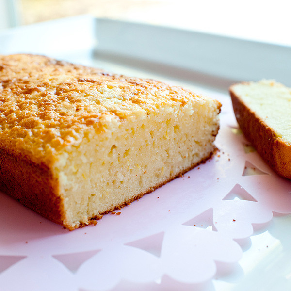 向大師致敬──Pierre Herme 檸檬奶油磅蛋糕