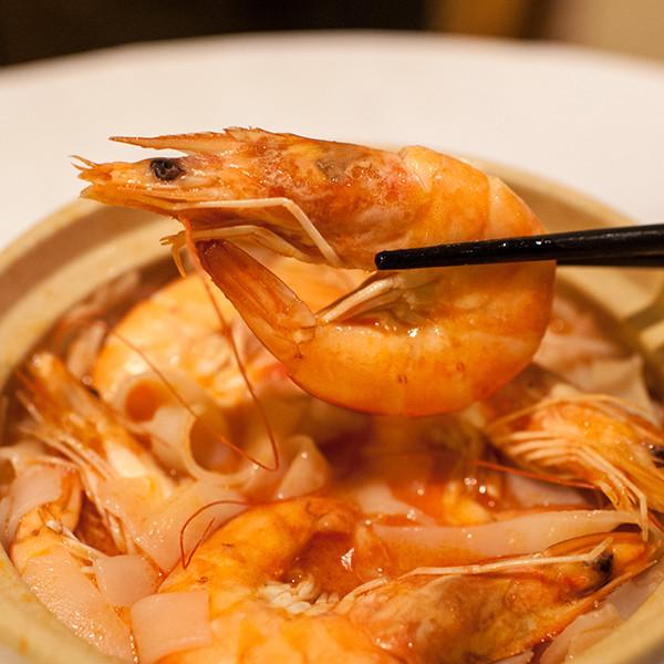 3步驟簡易年菜系列──酒香鮮蝦白玉煲