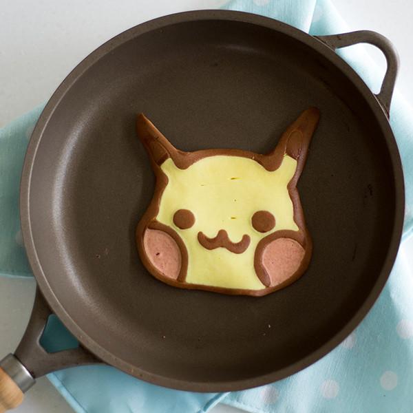 在家抓寶可夢Pokémon!教你做【皮卡丘鬆餅】