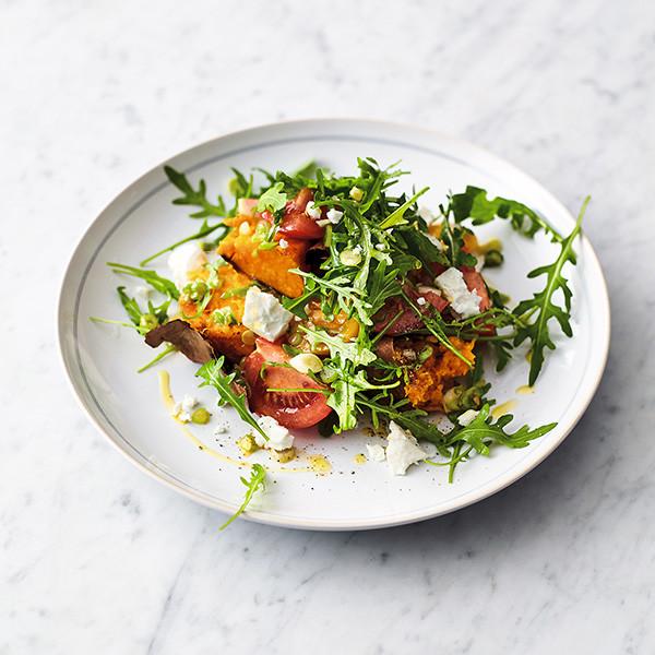 五種食材做夏日高纖輕食~【番薯沙拉】