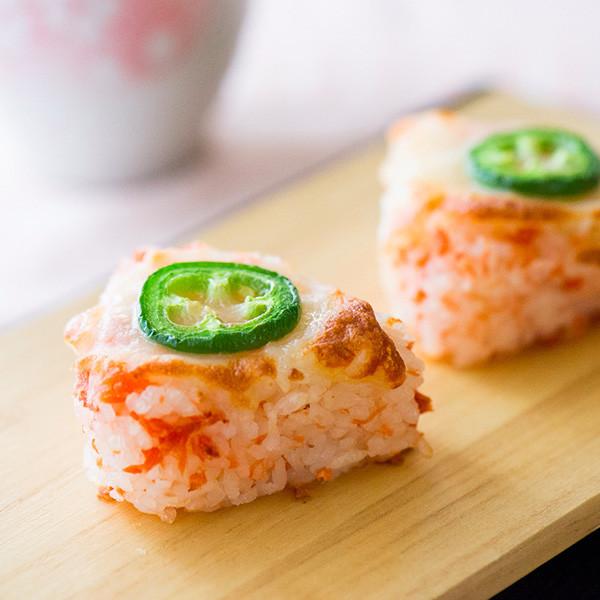 咪咪手作時間──焗烤起司鮭魚飯糰