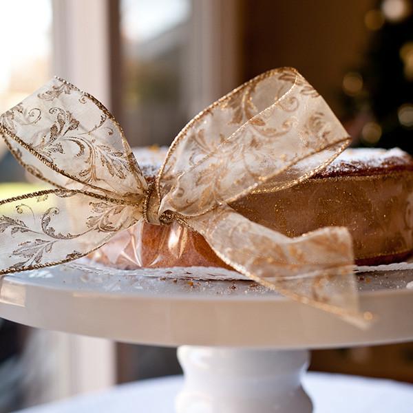 Merry Christmas──金色聖誕柳橙蛋糕