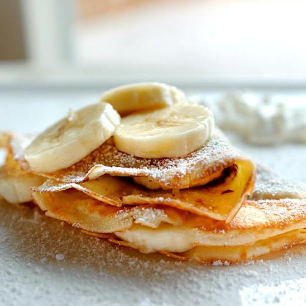 迷人午茶風華 - 法式臻果香蕉可麗餅Crêpe