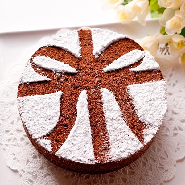 給親愛的女兒──緞帶巧克力戚風蛋糕