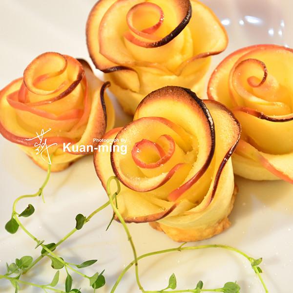 【影像生活】蘋果玫瑰 Apple Roses