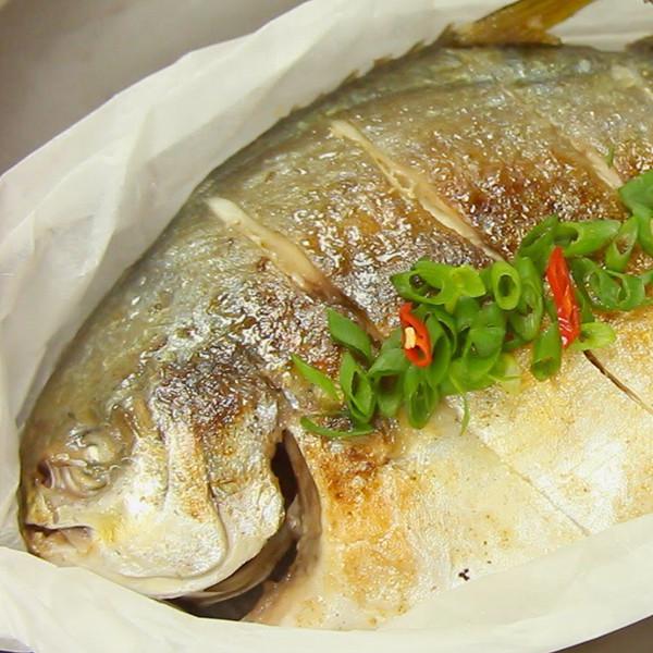 【點Cook Guide】煎魚不焦小訣竅~椒鹽煎鯧魚