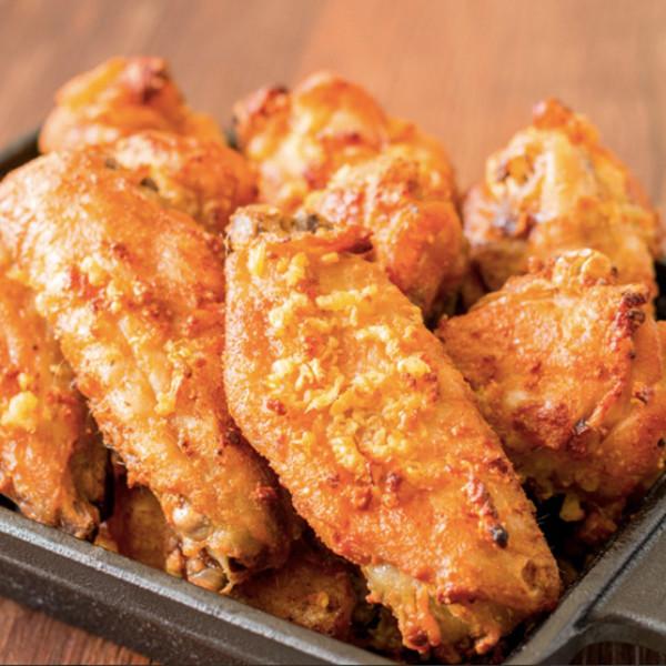 【成波之路】免油炸!蒜香奶油脆皮雞翅