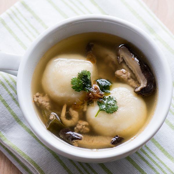 還是台味好!XO醬鮮肉豆腐湯圓
