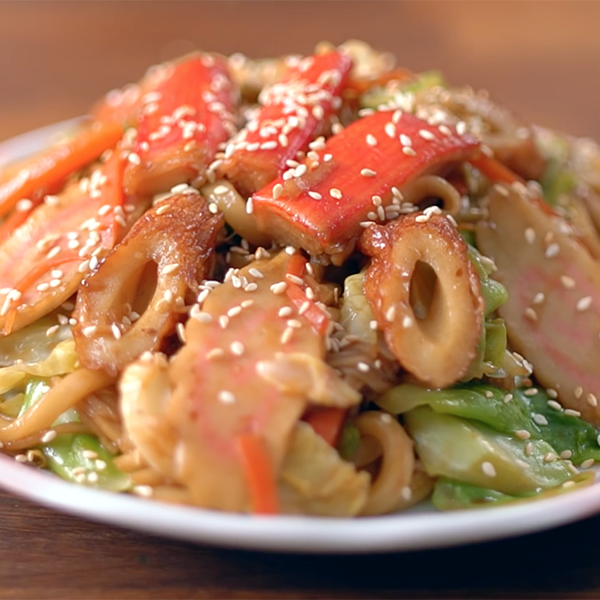 【點Cook Guide】日式家常料理~海鮮炒烏龍