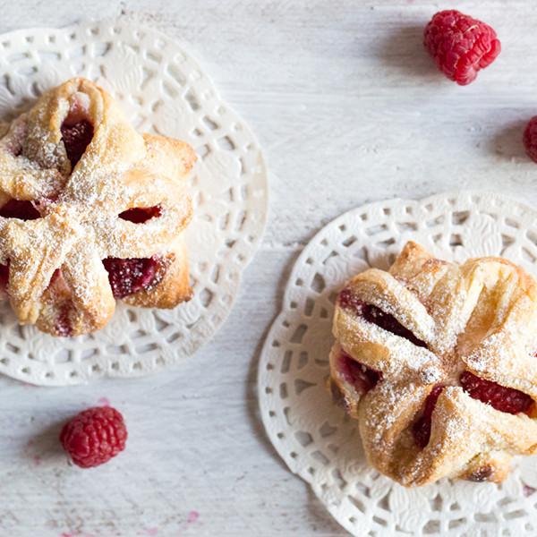 在家也能做五星級法式點心──覆盆莓起司派