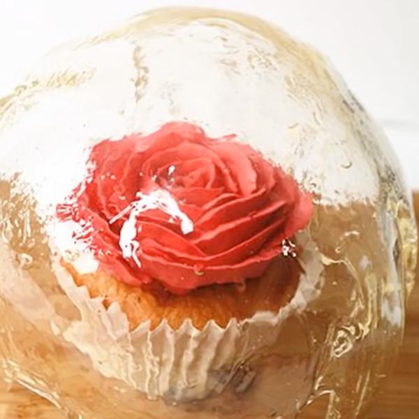 【Two Bites】美女與野獸~玫瑰杯子蛋糕