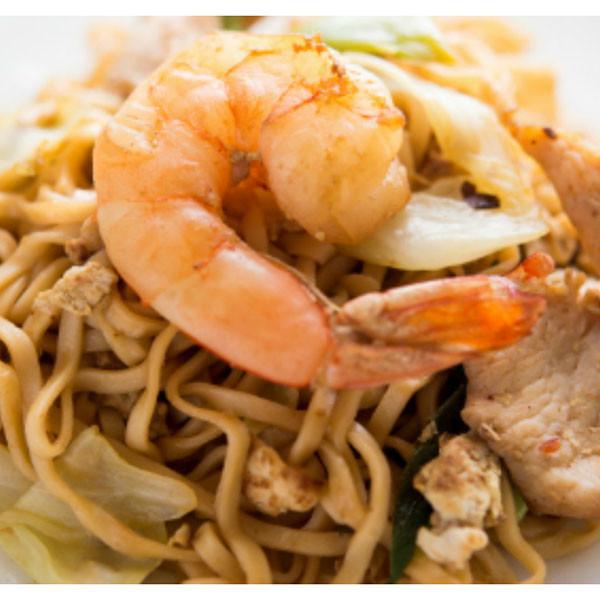 颱風夜吃什麼?豪華版台式海鮮炒泡麵
