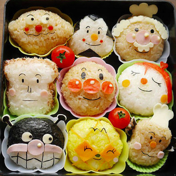 【上田太太】麵包超人飯糰便當