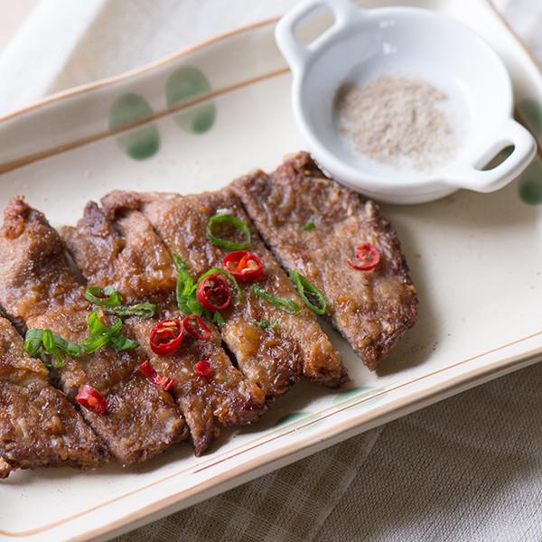 神奇低卡料理──免油炸椒鹽排骨