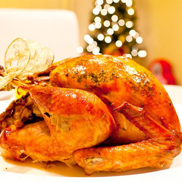 年度感恩大餐──楓糖脆皮烤火雞