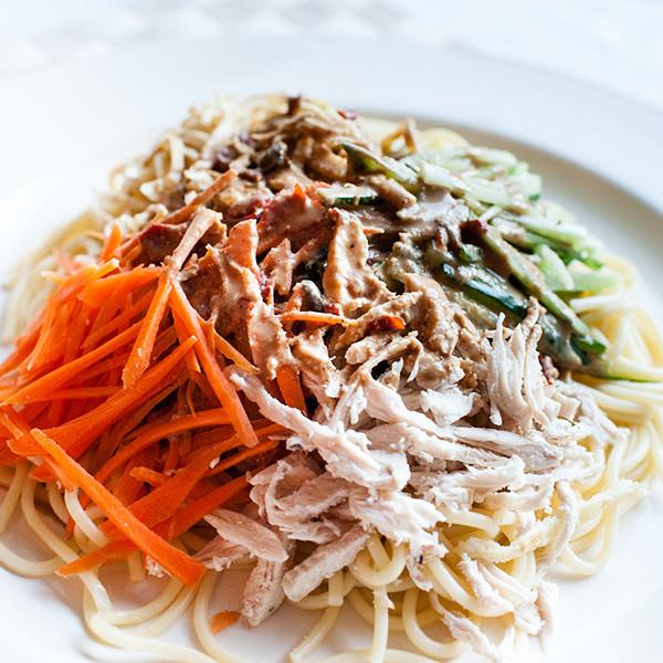 美食無國界── 台式意大利混血涼麵