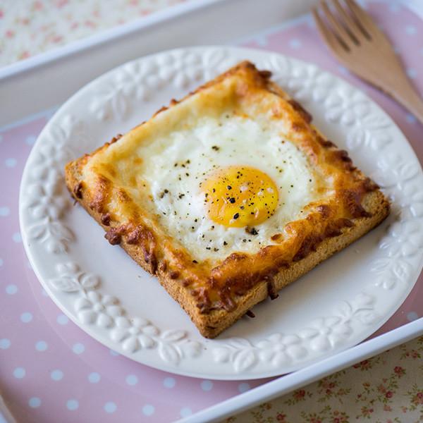 Bonjour~「公雞太太」焗蛋三明治