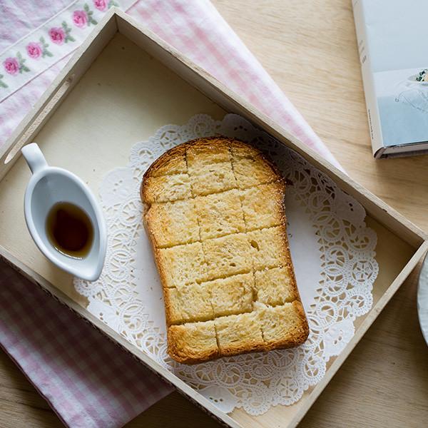 週末早午餐 - 楓糖奶油厚片吐司