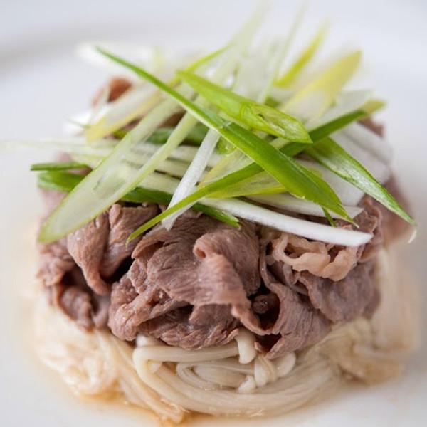 火鍋肉片變身五星級飯店料理【白灼花椒滑牛肉】