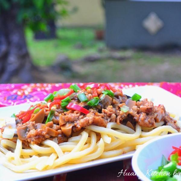 【Huang Kitchen 黃廚房】上海炸醬麵