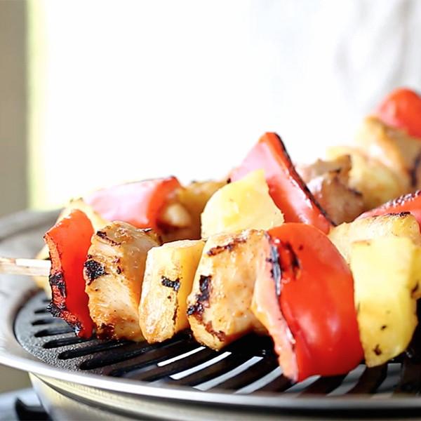 快來試試!從沒吃過的創意異國風烤肉串【鳳梨椰奶雞肉串】