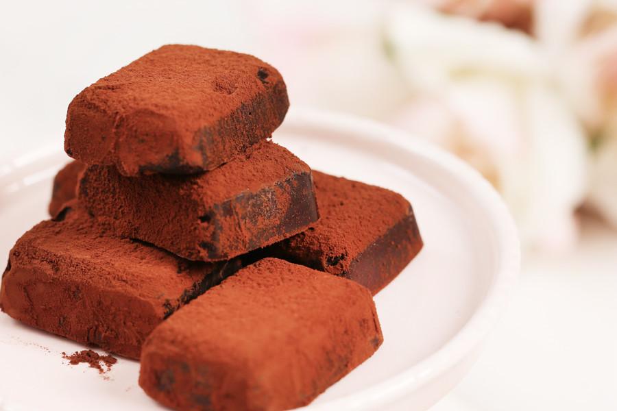 生巧克力,甜點,消暑,手作,冷藏