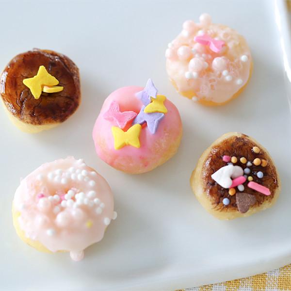 3種材料親子點心!Tiny Kitchen【迷你甜甜圈】