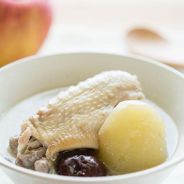 好喝高湯的3大秘訣──蘋果紅棗美容雞湯