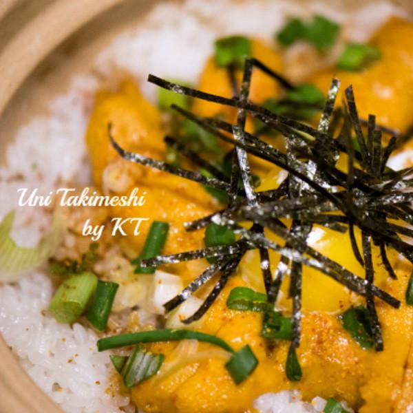 5分鐘奢華晚餐──海膽鍋燒蓋飯
