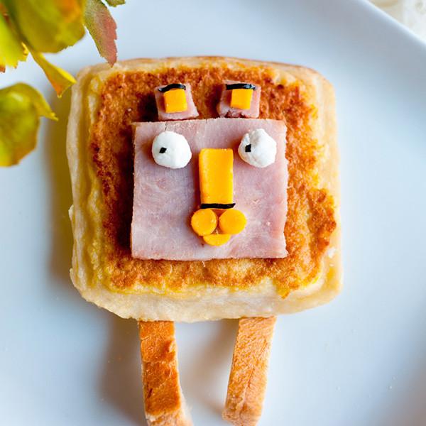 給李大仁的集氣祝福──方頭獅心軟三明治