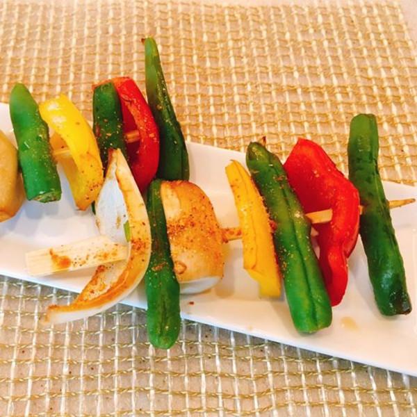 【珍妮絲營養書】蔬菜串燒(這樣吃,兩小串就有1份蔬菜!) 珍妮絲營養書・美味名人