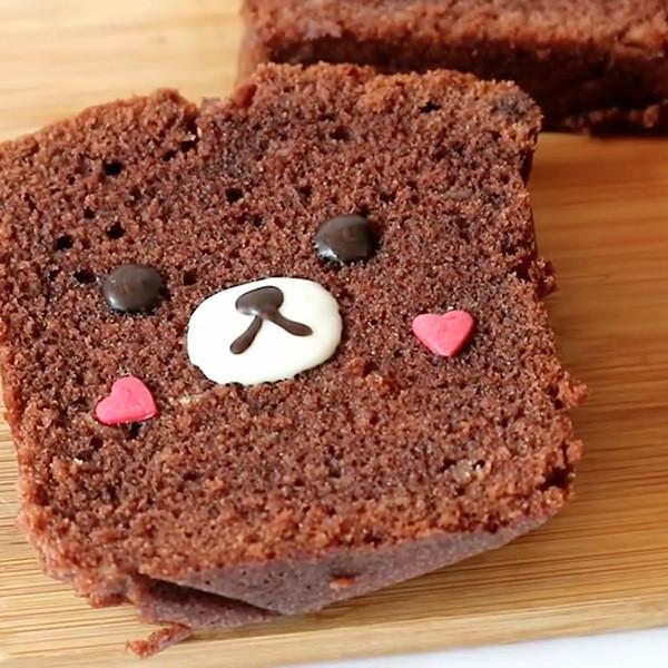 【Two Bites】少女心爆發~懶懶熊巧克力磅蛋糕