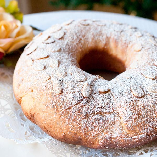 感恩節祝福滿滿──布里歐皇冠麵包
