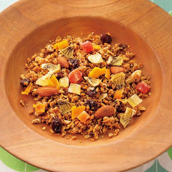 【減重高纖早餐】杏仁&熱帶水果什錦榖麥