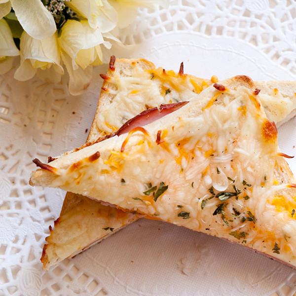 5分鐘輕食午餐──法式乳酪火腿三明治