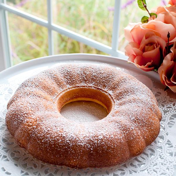 幸福午茶時光──橙香乳酪奶油蛋糕