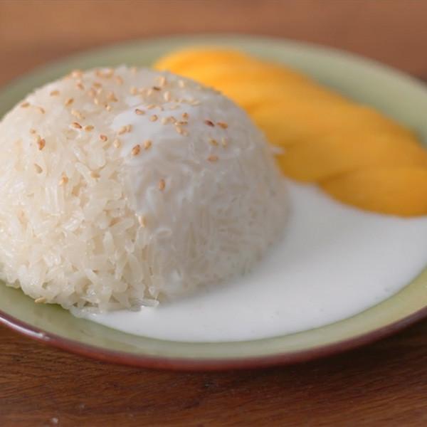 【點Cook Guide】令人念念不忘的泰式甜點~芒果糯米飯