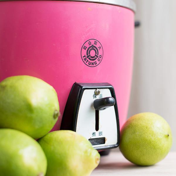 讓電鍋亮晶晶的秘密武器 - 超強檸檬去漬法