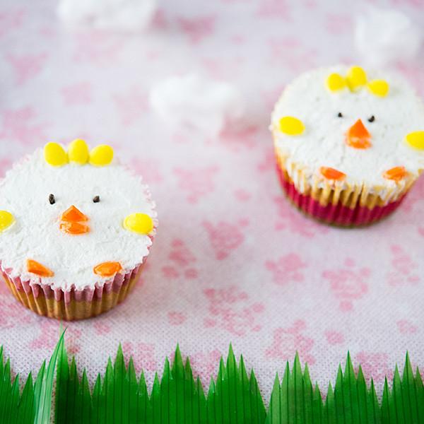 復活節的奇蹟──小雞牛奶戚風杯子蛋糕