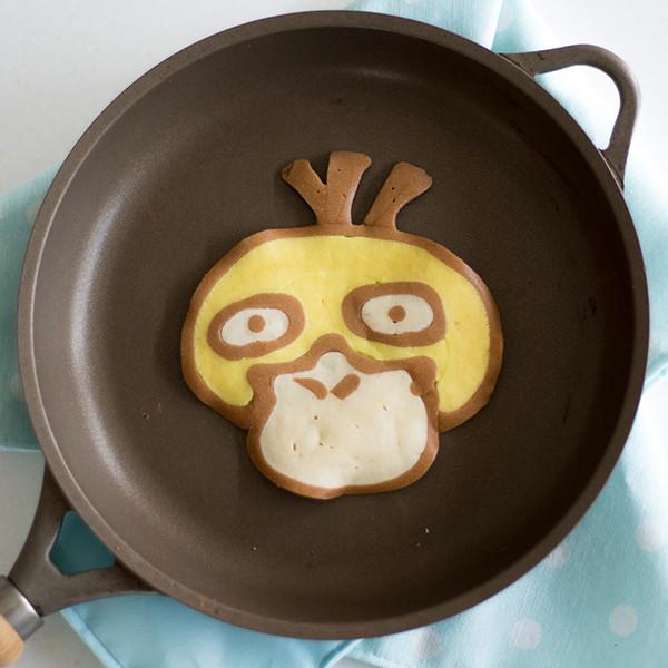 寶可夢Pokémon鬆餅好好玩!教你畫【可達鴨】