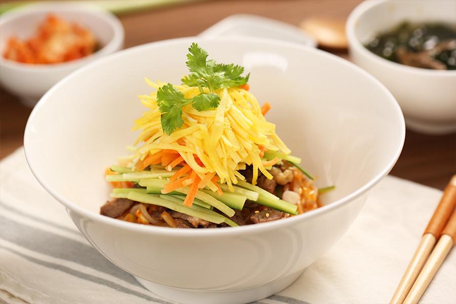 低卡,冷麵,韓式料理,夏季,消暑