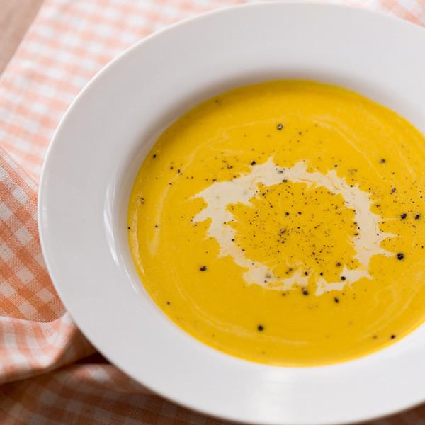秋日的幸福感──「秘密香料」奶油南瓜濃湯