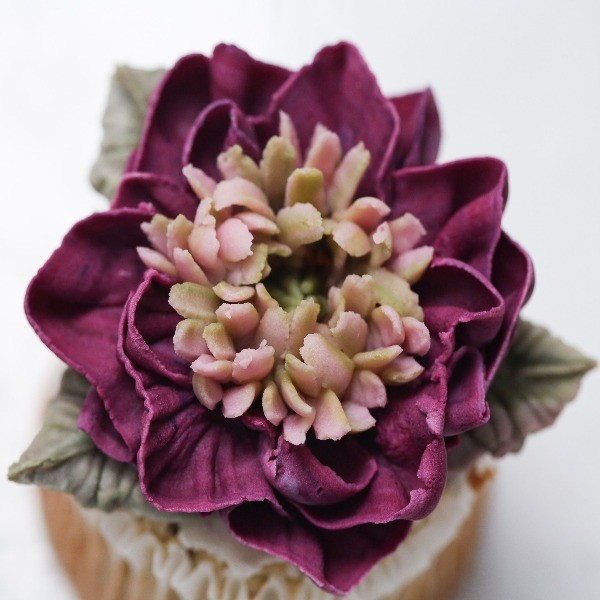 盛開含苞均絕美!浪漫滿分韓式裱花【芍藥】
