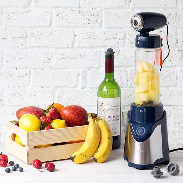 【好物分享】一機多用真空果汁機,健康帶著走!