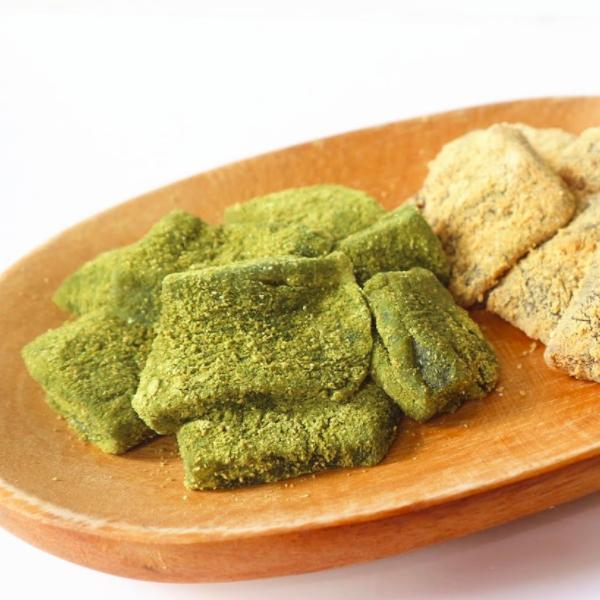 【Two Bites】日式小茶點~抹茶/黃豆粉蕨餅