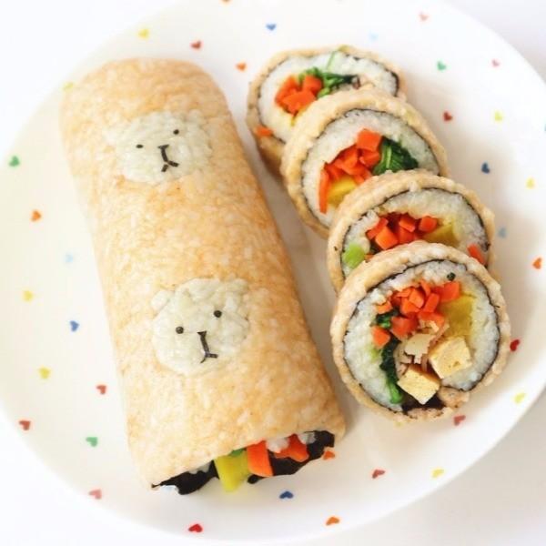 【Two Bites】小熊紫菜包飯(壽司卷)