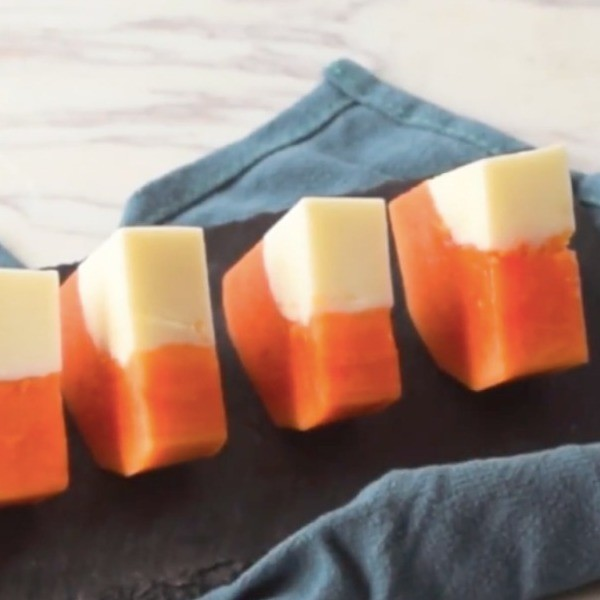 【HappeaBites】天然親子點心~木瓜牛奶凍