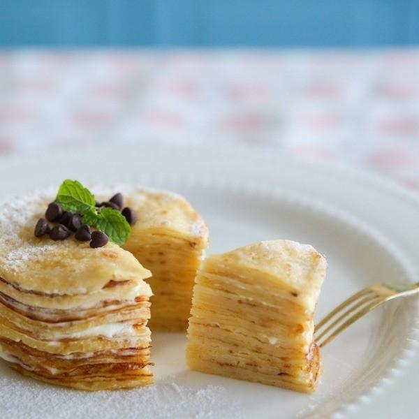 迷你版Lady M──法式千層可麗餅蛋糕